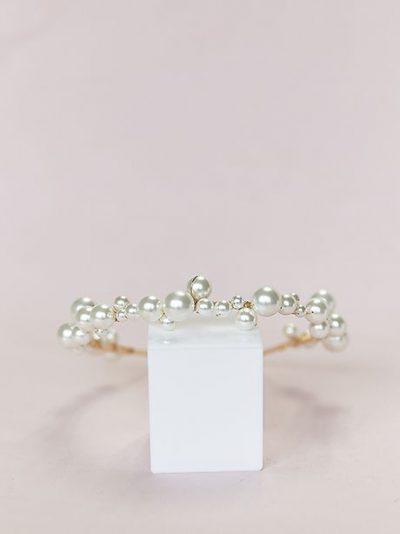 Bohemian pearl headband