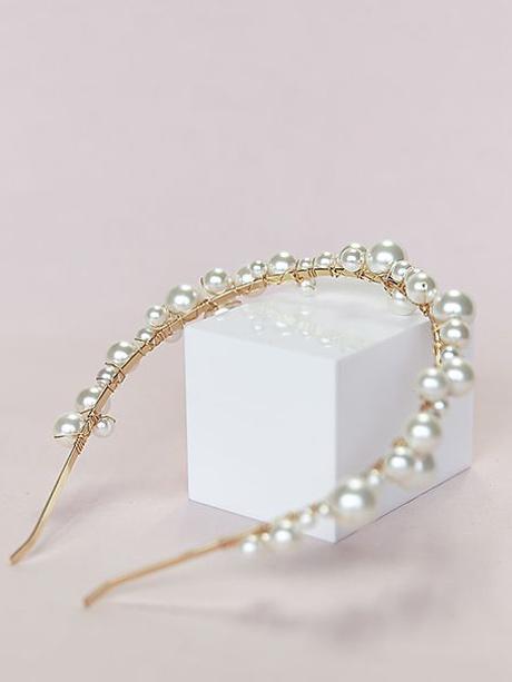 Boho headband wedding jewellery