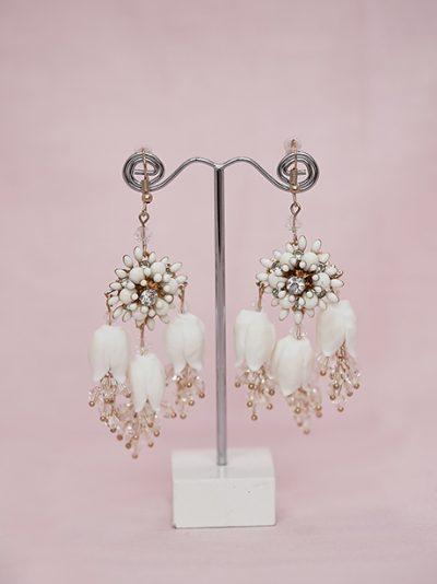Unique hanging earrings