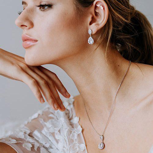 Pendant set wedding jewellery