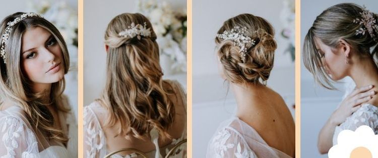 hair accessories and bridal hairstyles