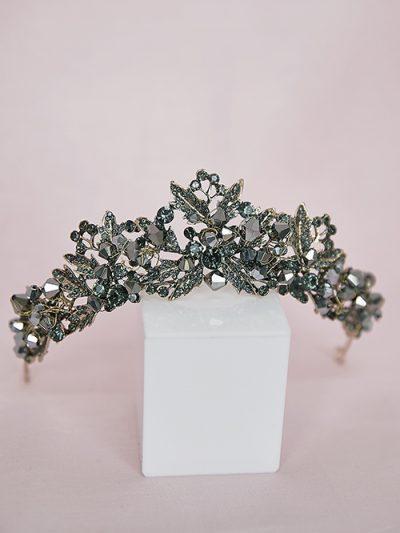 black tiara