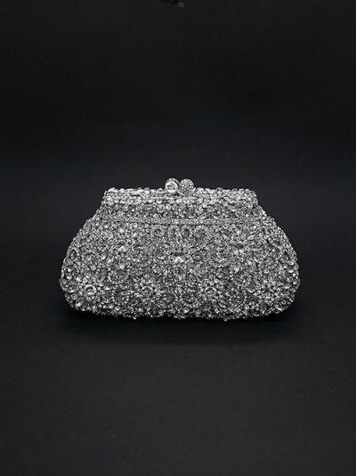Luxury beaded bridal bag