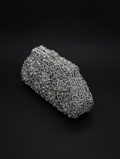 Luxury beaded bridal purse