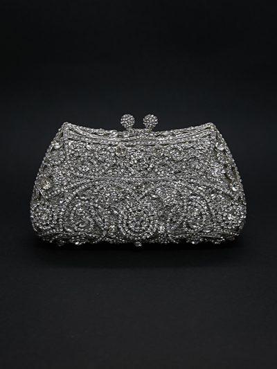 very sparkly wedding bag